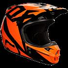 FOX RACE Cross hjelm