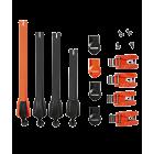 Fox Instinct strop/spænde kit Flow orange/Neon Orange