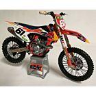 KTM model legetøjscrosser Jorge Prado 1:12