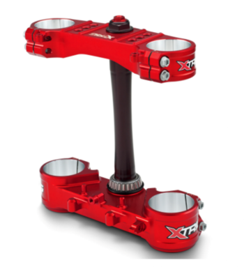 X-Trig Triple Clamp Kit Ltd. Rød
