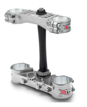 X-Trig Triple Clamp Ltd. Kit Sølv
