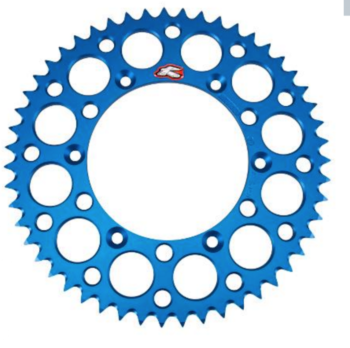 Renthal Rear Alu. Sprocket Blue