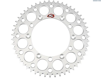 Renthal Rear Alu. Sprocket Silver