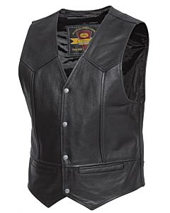 Held Dillon sort MC vest