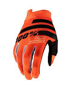 100% Børne Cross Handsker iTrack Orange