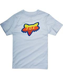 Fox Draftr Head Børne T-Shirt Hvid