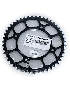YZ 65 bagtandhjul sort stål