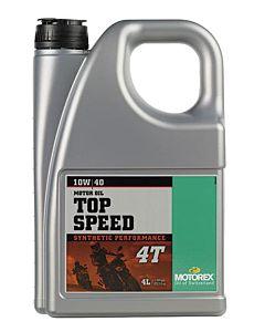 Motorex Top Speed 4T 10W/40 4L