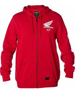 FOX Honda zip hættetrøje Rød