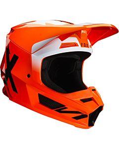 FOX V1 WERD Cross Hjelm Orange