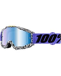 100% Accuri Cross Briller BrentWood med Blåt spejlglas