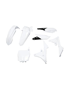Yamaha Polisport Plastik Kit Hvidt