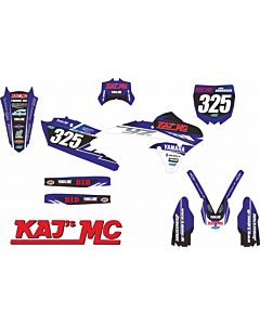 Kajs MC Racing Team Stafferinger til Cycra Plastik