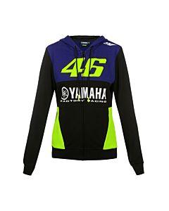 Yamaha Rossi Zipped Hoody til kvinder