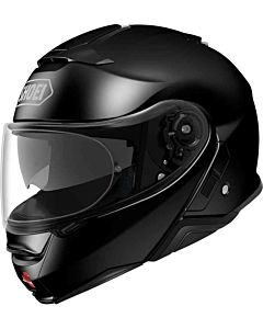 SHOEI Neotec 2 blank sort MC hjelm