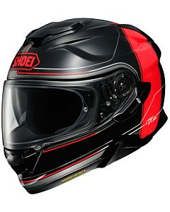 SHOEI GT-Air 2 Crossbar TC-1 sort/rød MC hjelm