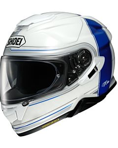 SHOEI GT-Air 2  crossbar TC-2 hvid/blå MC Hjelm