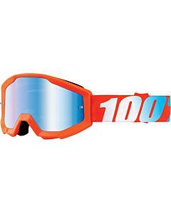 100% Strata Jr Youth børne cross brille spejl glas