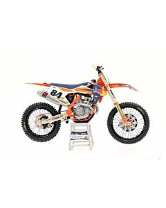 KTM model legetøjscrosser Jeffrey Herlings 1:12