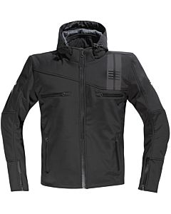 DIFI Jamie softshell MC jakke sort