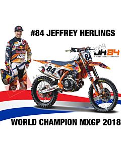 KTM 450 SX-F Jeffrey Herlings Model 1:6