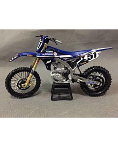 Yamaha model legetøjs crosser