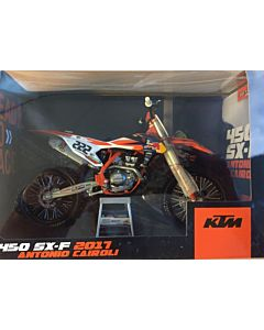 KTM Tony Cairoli 1:10 Model legetøjscrosser