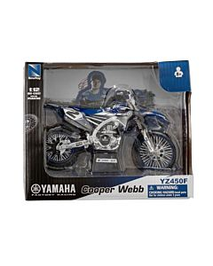 Yamaha model legetøjs crosser Cooper Webb 1:12