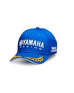 Yamaha Paddock Blue kasket med laurbær