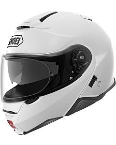 SHOEI Neotec 2 blank hvid MC hjelm