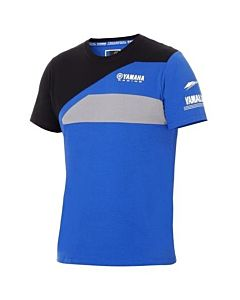 Yamaha paddock blue Herre T-shirt