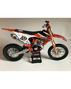 KTM Tony Cairoli legetøjs Crosser