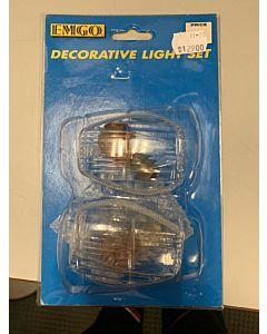 Klare blinklys glas(0)