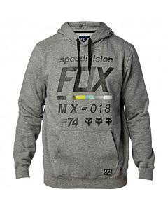 FOX district 2 hættetrøje grå