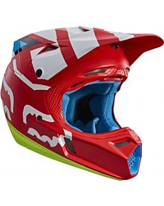 FOX V3 SECA Cross hjelm